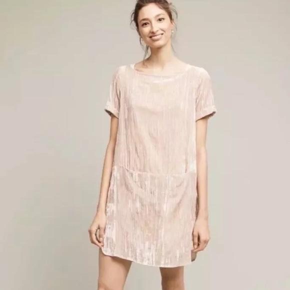 7a2c626e58d3 Anthropologie Dresses   Floreat Crinkle Crushed Velvet Dress   Poshmark